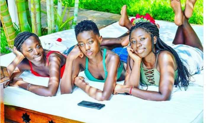 Akothee's daughters