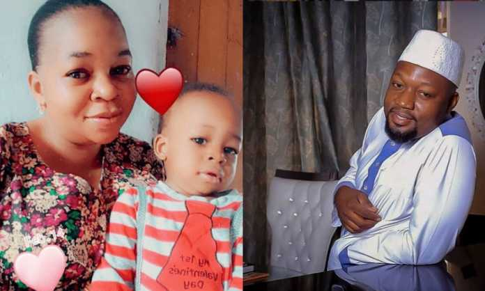 Photos of Diamond Pltanumz' 1-year-old stepbrother surface