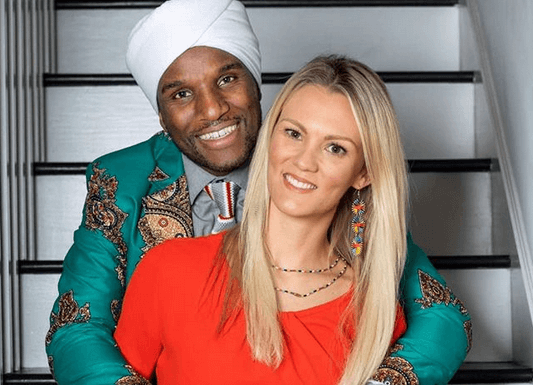 David Wachira and Cecilie