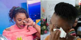 Betty Kyallo crying
