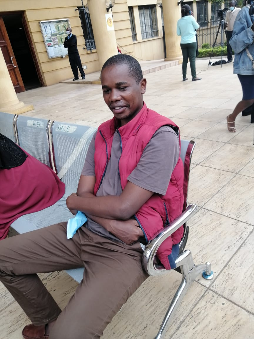 Blogger in court over Fred Matiangi ICU post (Photos)