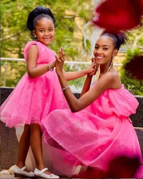 Jowie's baby mama and daughter