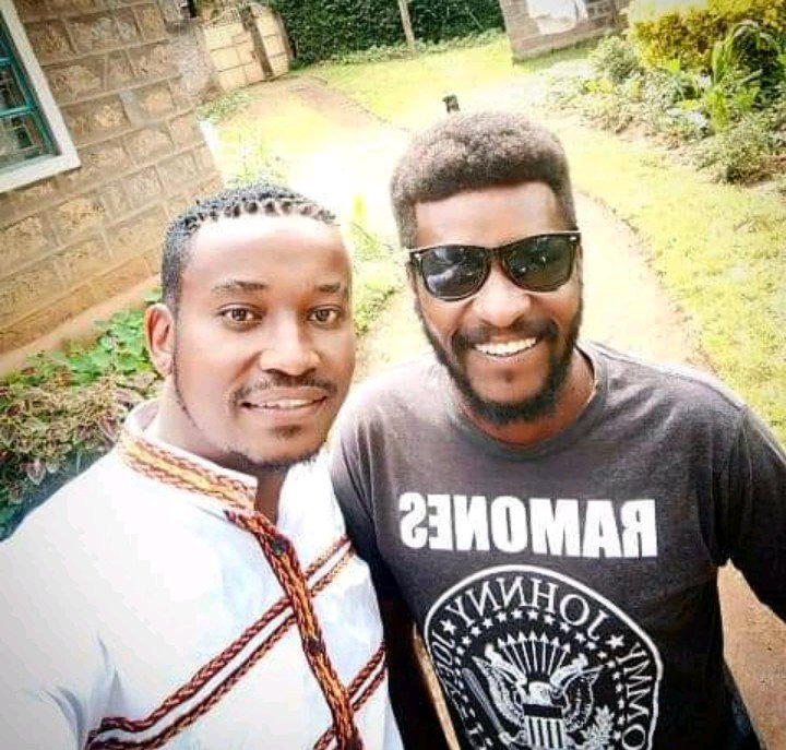 Actor Njro and his brother