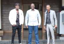 Ruto and Willy Paul