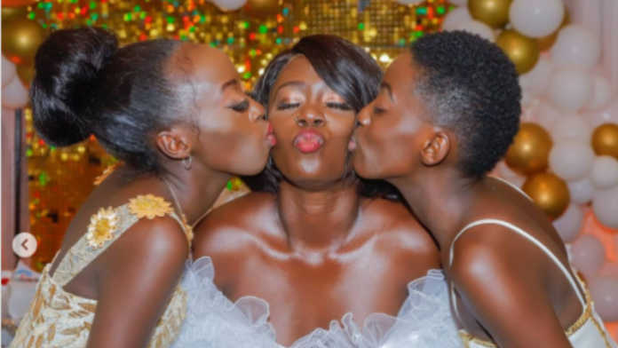 Akothee and daughters