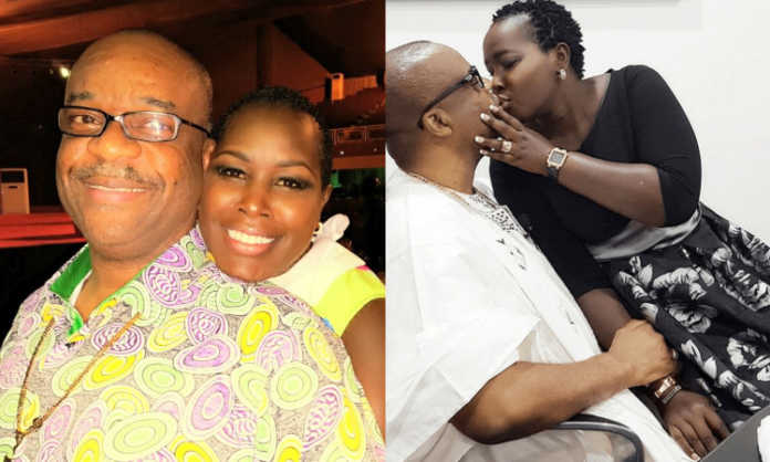 Emmy Kosgei and hubby