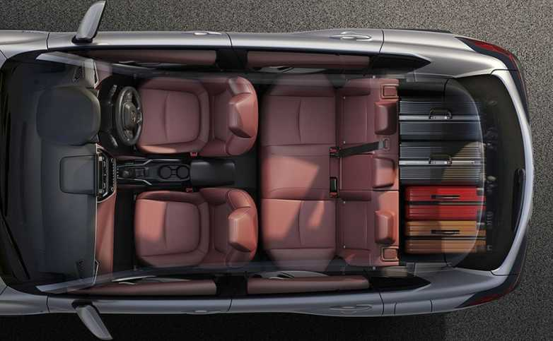 The All-New Corolla Cross offers a large luggage space with a maximum capacity of up to 487 liters