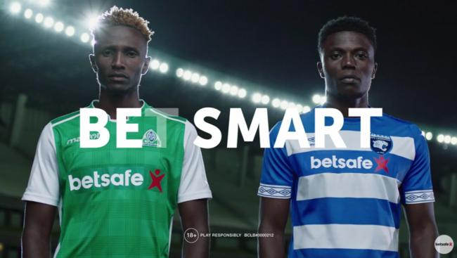 Betsafe operates in Kenya, sponsoring Gor Mahia and AFC Leopards