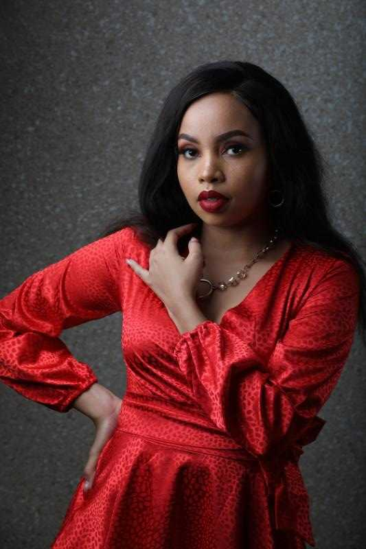 Brenda Wairimu gets emotional talking about late parents and Size 8