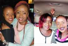 Jacque Maribe and Chemutai