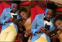 Betty Kyallo and Eric Omondi