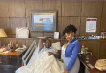 Mike Sonko in hospital