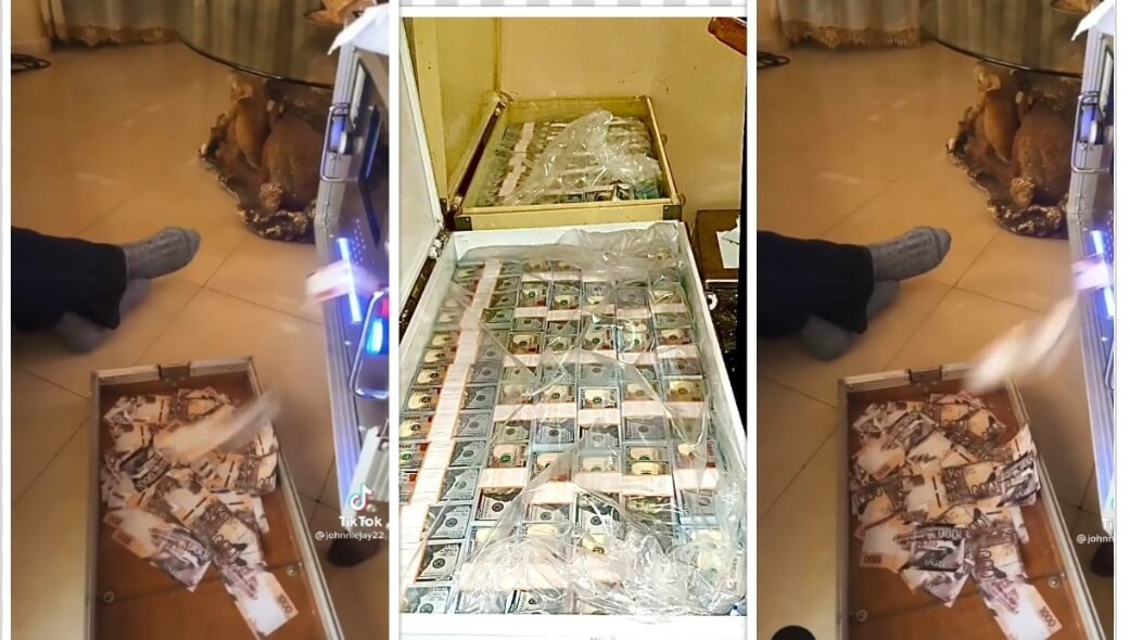 TikToker flaunts money minting machine similar to one recovered by DCI in Kilimani