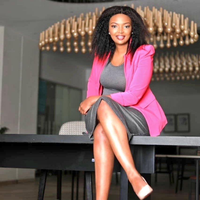 Karen Nyamu gushes over her son with Sammidoh, says she never thought she would be a mother again