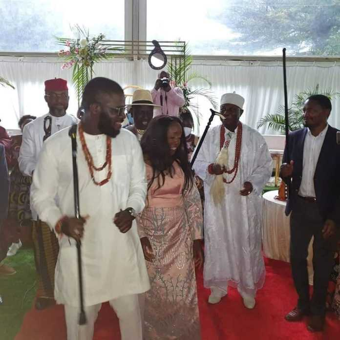 Video of June Ruto and fiancé dancing as Nigerians splash money on them